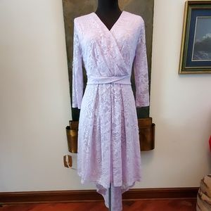 Lavender lace dress - Size 2XL